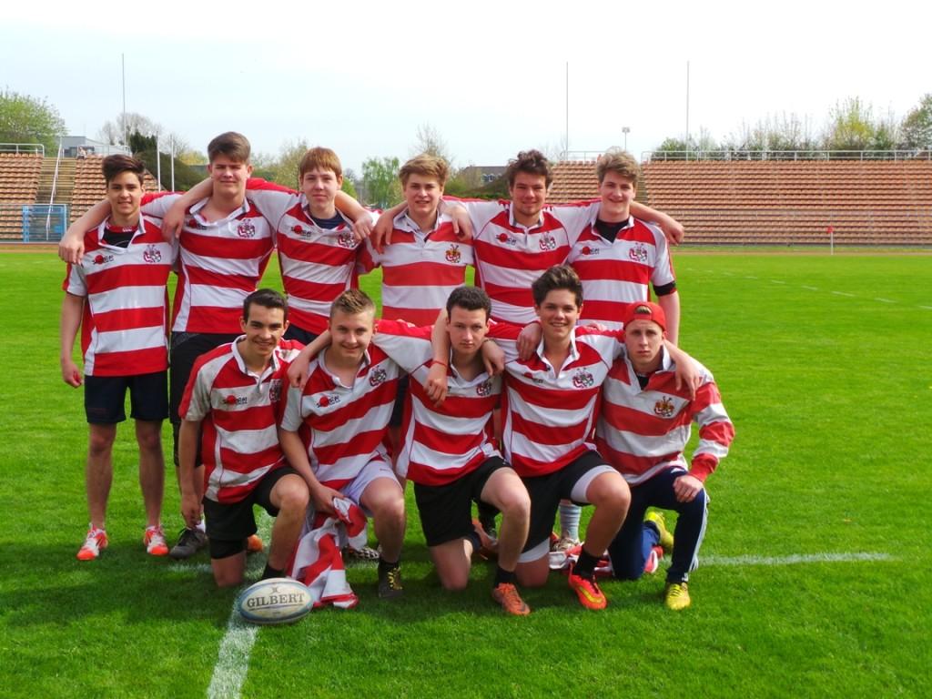 Rugbyteam der Klosterschule Roßleben