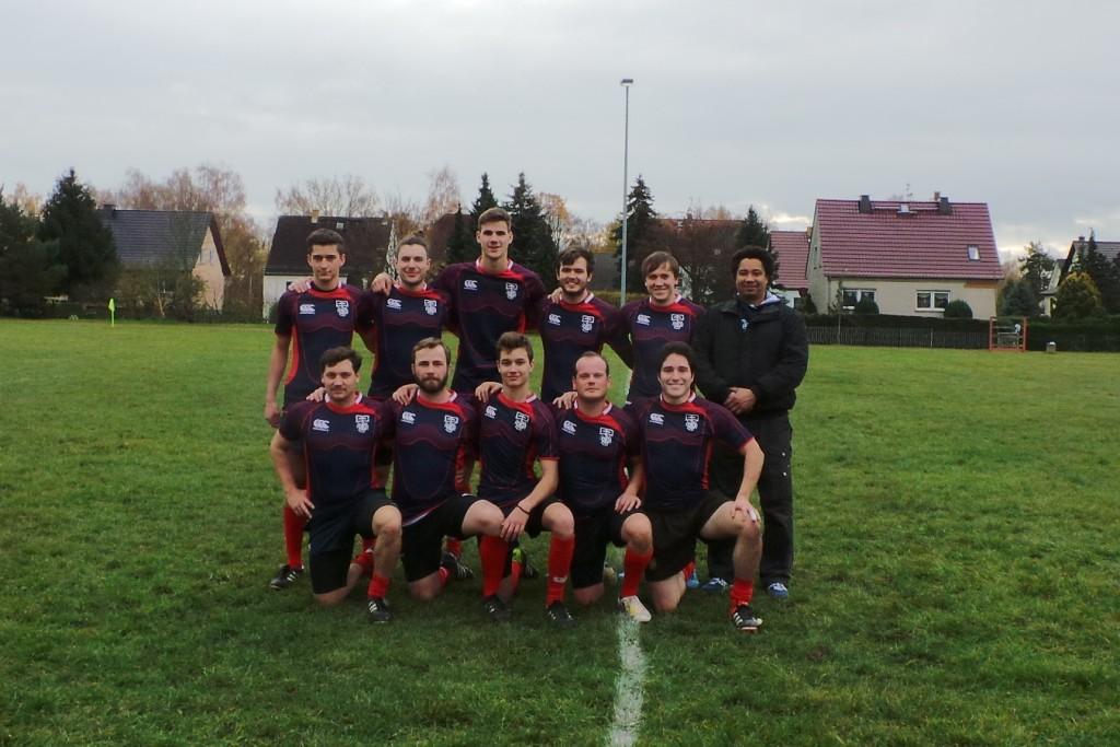 Erfurt Rugby mit Support aus Ilmenau
