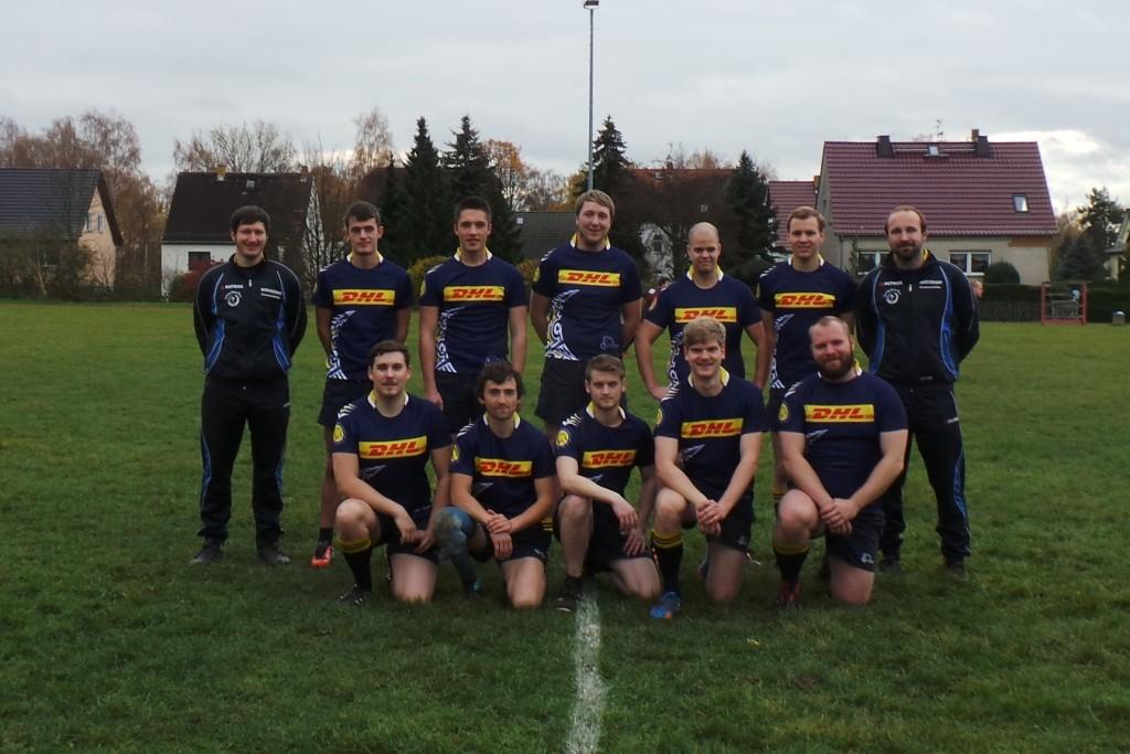 Rugbyteam der Uni Leipzig